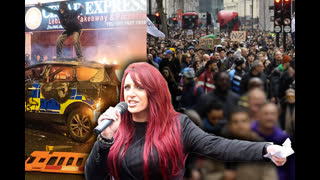 Jayda Fransen - Protests vs Riots - LIVE 22nd March 2021