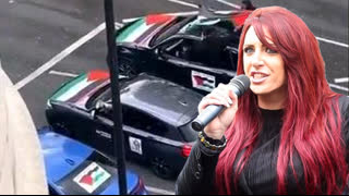 Jayda Fransen - 'Drive For Palestine' Convoy - LIVE 7pm - 17th May