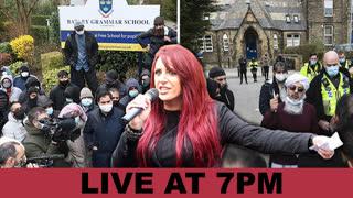 Jayda Fransen - Batley School Sharia Law - LIVE 26th March 2021